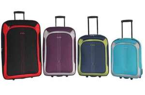Lagoon luggage -cabin baggage sizes available from £8.99 @ Poundstretcher