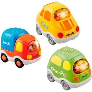 VTech Toot-Toot Driver Set 1 Car, Van and Lorry (was £22.99) Now £11.49 + Free Delivery at Argos