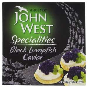John West Caviar from Black Lumpfish 62p @ Tesco Wigan