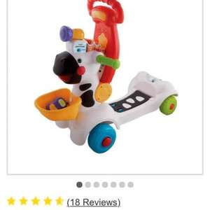 vtech baby 3 in 1 zebra scooter £25.99 Argos