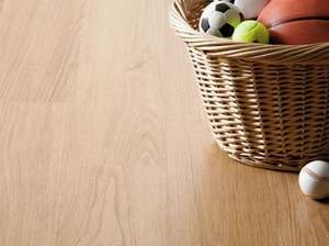 ** Golden Oak Laminate Flooring - 2.92sq m per pack for only £2 @ Homebase (incl. 10 year guarantee) **
