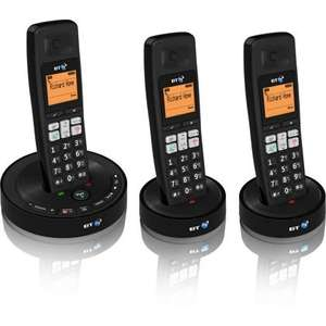 BT 3510 Trio Cordless Dect Telephone (Set of 3) only £10 @ Homebase (Click & Collect Only)