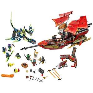 LEGO 70738 Ninjago Final Flight of Destiny's Bounty £67.99 @ Amazon / John Lewis
