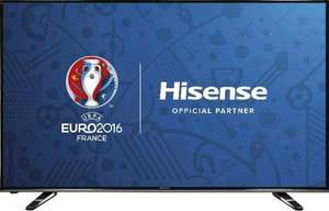 Hisense 50-Inch Widescreen 4K Smart LED TV with Freeview HD &  Freesat £399.99 at Amazon