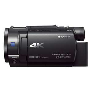 Sony FDR-AX33BDI Ultra HD 4K Compact Camcorder (Balanced Optical SteadShot, Wi-Fi and NFC) (Like New) £434.19 @ Amazon Warehouse
