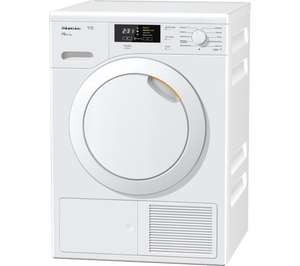 MIELE TKB140 Heat Pump Tumble Dryer - White - Currys £630.00!!! (£630.00 with 10% code - £530.00 with code + £100 Miele Cashback) + Possible 5% Quidco