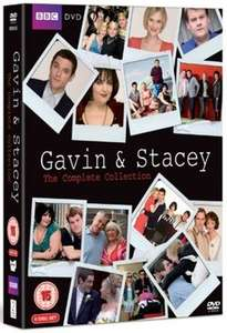 Gavin and Stacey: Series 1-3 and 2008 Christmas Special USED £1.69 at Musicmagpie