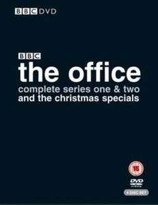 The Office: Complete Series 1 and 2 and the Christmas Specials £1.39 USED at Musicmagpie