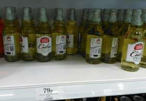 Stella Pear Cidre 500ml 79p Home Bargains