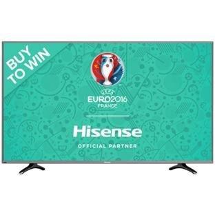 Hisense 50EC591U 50 Inch 4K Ultra HD Smart LED TV £379 @ Argos (possible 5% cashback with quidco)