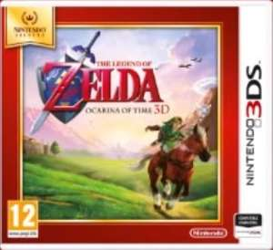 [Nintendo 3DS Selects] The Legend of Zelda: Ocarina of Time 3D / Paper Mario: Sticker Star / Mario & Luigi: Dream Team Bros. £14.86 @ Shopto