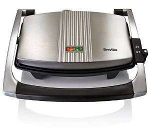 Breville VST025 Sandwich Press, Stainless Steel £19.50 prime / £24.25 non prime at Amazon