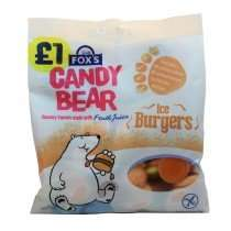 Fox's 'Ice Burgers' Gummy Sweets 200g Bag 49p @ Home Bargains