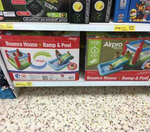Tesco Bouncy castle and pool. £85!! - Northampton store