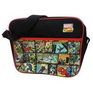 Marvel Courier Bag was £14.99 now £7.49 C+C @ Argos (also Captain America Backpack was £14.99 now £7.49)