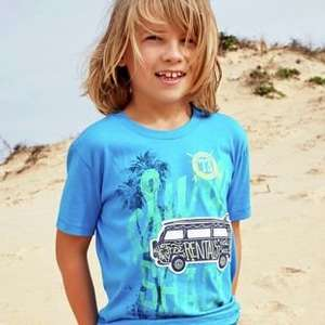 Lots More Kids Clothes Reduced to Half Price or Less @ Argos eg Boys Camper Van T-Shirt was £6 now £1.80