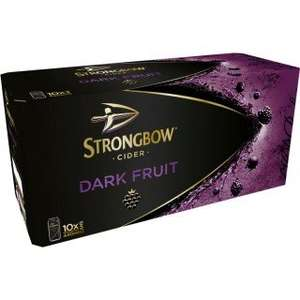 Strongbow Dark fruits 10 cans X 3 £20 morrisons