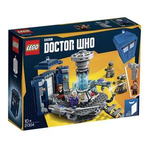 LEGO Ideas Doctor Who Assembly Kit £34.99 Amazon