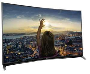 Panasonic Refurb Viera TX-55CR852B 55 inch SMART 3D 4K Ultra HD Curved LED TV FreesatHD Dropped to £629.99 by Panasonic Ebay Outlet