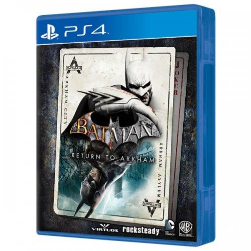 Batman: Return To Arkham (PS4/Xbox One) - £32.94 at Shop4World: Arkham Asylum and Arkham City remastered!