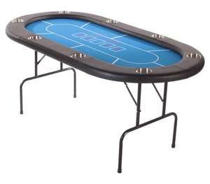 8 Person Folding Poker Table was £295 now £169 @ libertygames.co.uk