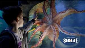 50% off Sea-life Manchester £29 for family of 4 6th June to 15th July (Voucher print) key103