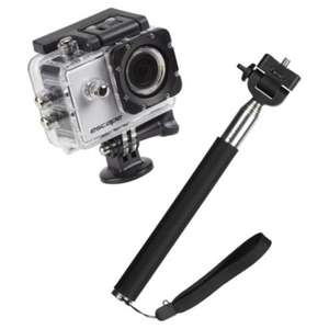 Kitvision HD5 action cam with selfie stick - £25 @ Tesco Direct