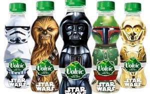 Volvic natural mineral water Star Wars bottles. 19p each or 6 for £1 at home bargains