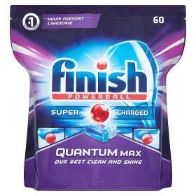 Finish Quantum Max Dishwasher Tablets (60pk) £5 @ ASDA RRP £12