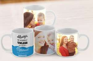 Personalised mug £7.50 Delivered (WITH CODE) @ Picanova.co.uk