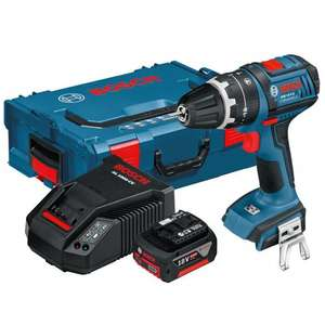 Bosch GSB 18V-LI Dynamic Combi Drill With 4AH Battery & Quick Charger £104.97 delivered at Dibranto