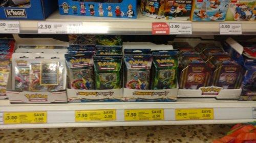 Pokemon Trading Card Game, discounts £3 @ Tesco