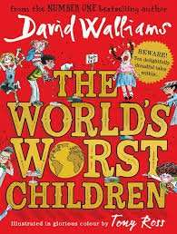 "David Walliams ""The Worlds Worst Children"" at sainsburys £5.49"