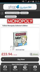 Fallout 4 monopoly  £23.94 cheapest around!!! @ Shop4world