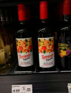 Original Sangria Espana 10% alc imported from Spain only £3.75 (Rollback Deal) @ ASDA