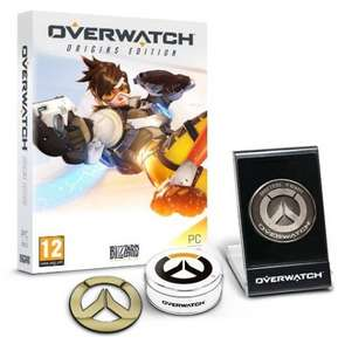 Best (PC) Overwatch Origins Edition - 'Memory of War' Metal Coin & Metal Badge Bundle at Amazon for £37.99