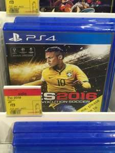 PS4 Pro Evolution Soccer 2016 - £13 in store at ASDA