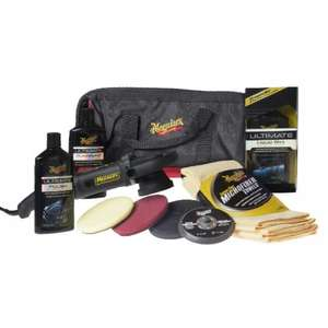 Meguiars Dual Action machine polisher mt320 and full accessory kit £236.99 with code @ ECP