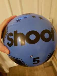 Best pound you will ever spend shoot floater ball £1 in store at Asda