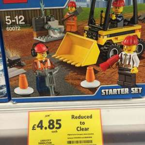 Lego City Demolition starter Kit £4.85 @ Tesco