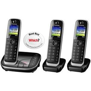 Panasonic KX-TGJ323EB Triple Pack Cordless DECT Telephone with Answer Machine - £54.99 @ costco