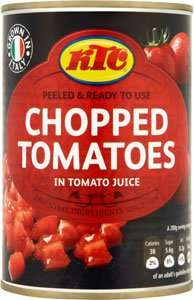 KTC chopped tomatoes 4 for £1 tesco