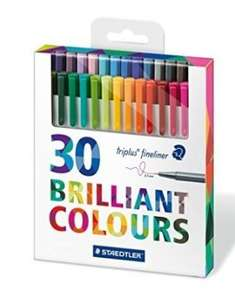 Staedtler Fineliner 30 pack £4.50 @ Amazon (Add-on Item)