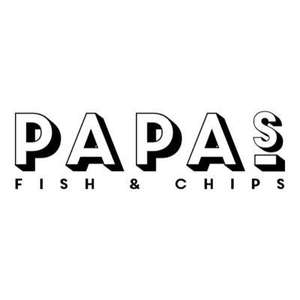 Medium fish and chips to takeaway *Tuesday 24th May only* 50p @ Papa's fish and chips  Willerby branch (takeaway)