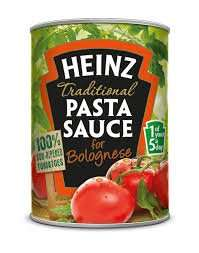 Heinz pasta sauce for 25p at Iceland