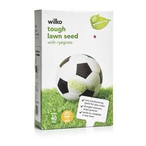 Tough grass seed and Rapid grass seed 1kg HALF PRICE now £3.50 @ Wilkos
