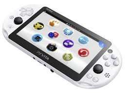 PS Vita Slim Model - PCH-2000 (Glacier White) £130 @ Play-Asia