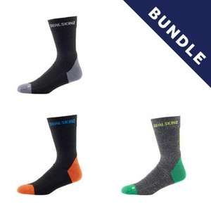 3 for 2 socks £25.50 plus free express delivery @ Sealskinz