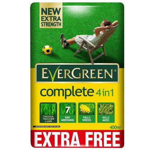 EverGreen Complete 4 in 1 Lawn Food, 400m2 14KG £15 INSTORE TESCO LONGTON STOKE-ON-TRENT