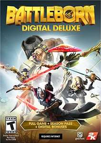 Battleborn Digital Deluxe Edition (Game + Season Pass) PS4/XB1 £27.58 @ Amazon US